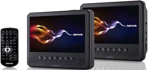 Lenco Tragbarer DVD-Player 2x17,5cm MES-212