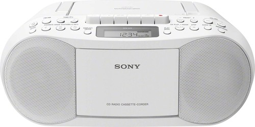 Sony Radiorecorder Kassette,CD,MP3 CFDS70W.CED