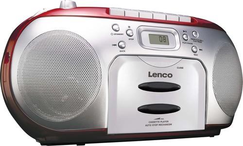 Lenco Radio/CD/Kassetten-Player SCD-420 RED