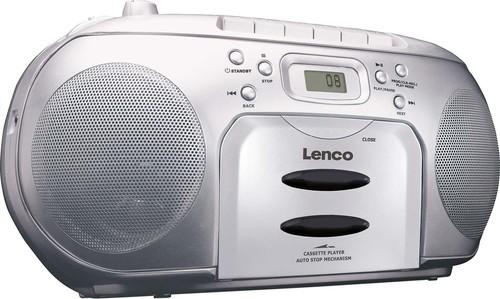 Lenco Radio/CD/Kassetten-Player SCD-420 SILVER
