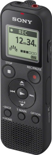 Sony Diktiergerät 4GB,USB-Anschl.,sw ICDPX370.CE7