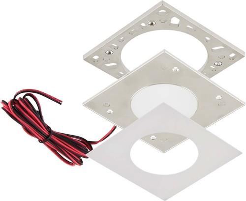 EVN Lichttechnik LED-Ein-/Anbauleuchte 3000K IP20 weiß L124250102