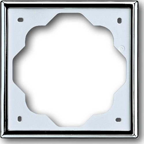 Busch-Jaeger Rahmen 1-fach chroma, impuls 1721-726
