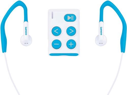 LENCO MP3-Player Sport 4GB SD card Xemio-154 BLUE