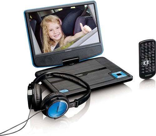 Lenco DVD-Player portable DVP-910 bl
