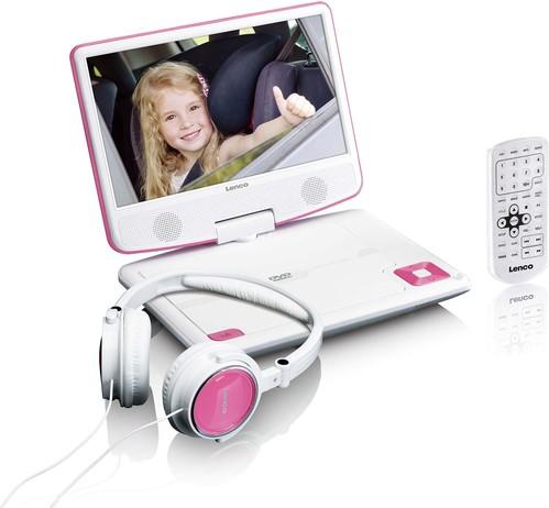 Lenco DVD-Player portable DVP-910 pink