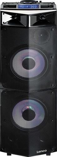 LENCO High-Power-Soundsystem BT,Mixfunktion PMX-300