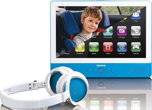 Lenco Tablet mit DVD-Player WiFi TDV901 bl