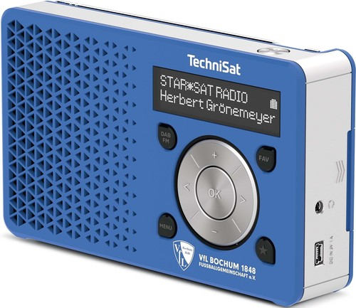 TechniSat Digitalradio VFL BochumFanEdition DIGITRADIO1VFLBochum