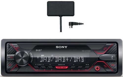 Sony Autoradio+DAB Antenne KIT 1DIN,USB,AUX,DAB+,rt DSXA310KIT.EUR