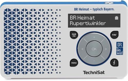 TechniSat Digitalradio BR Heimat-Edition DIGITRADIO1BR weiß/bl