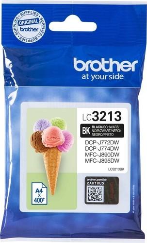 Brother Tintenpatrone schwarz LC-3211BK