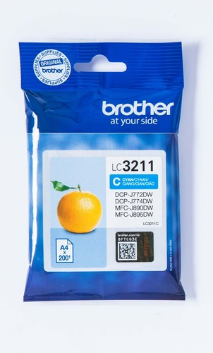 Brother Tintenpatrone cyan LC-3211C