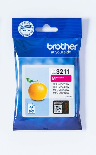 Brother Tintenpatrone magenta LC-3211M