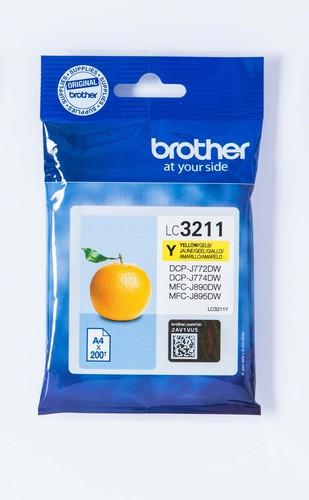Brother Tintenpatrone gelb LC-3211Y