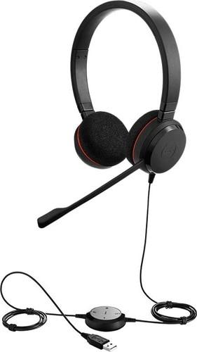 GN Audio Headset einohrig schnurgebunden JabraEvol20SE/UCDuo