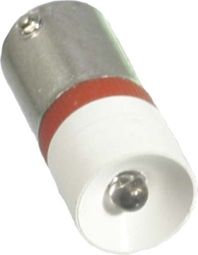 Scharnberger+Hasenbein Single-LED 10x25mm Ba9s 12VAC/DC rot 35167