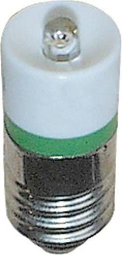 Scharnberger+Hasenbein Single-LED 10x25mm E10 12-14VAC/DC grün 35199