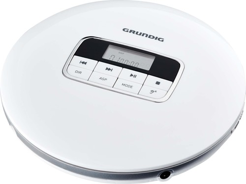 Grundig CD-Player portable,Linie GCDP8000 weiß/si