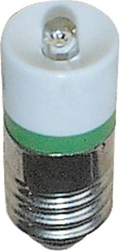 Scharnberger+Hasenbein Single-LED 10x25mm E10 20-28VAC/DC grün 35210