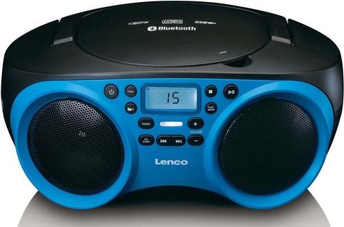 Lenco Radio CD/MP3 USB,Bluetooth SCD-501 Blue/Black