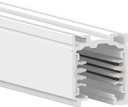 LTS Licht&Leuchten DALI-Stromschiene 1m weiß Aufbau ST-A 10/9000-1-ST WS