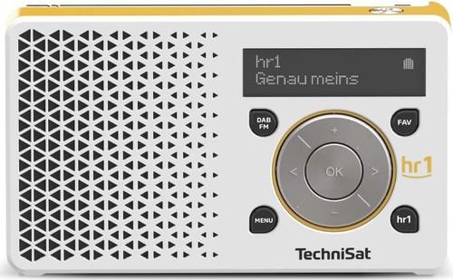 TechniSat Digitalradio hr1 Edition DIGITRADIO1hr1 weiß/ge