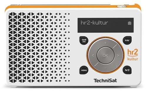 TechniSat Digitalradio hr2 Edition DIGITRADIO1hr2 weiß/or