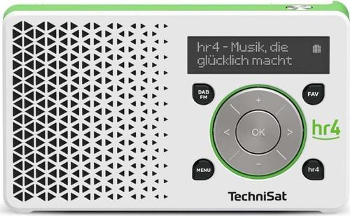 TechniSat Digitalradio hr4 Edition DIGITRADIO1hr4 weiß/gn