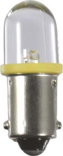 Scharnberger+Hasenbein Import-LED 10x29 Ba9s 130V AC/DC gelb mit Brück 36812