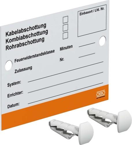 OBO Bettermann Vertr Kennzeichnungsschild KS-S DE