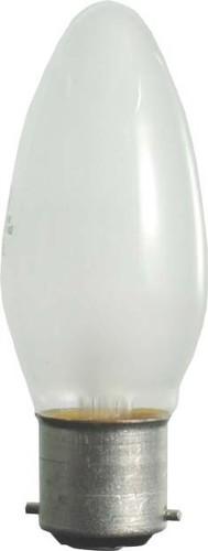 Scharnberger+Hasenbein Kerzenlampe 35x100mm B22d 240V 40W matt 40863