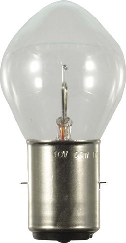 Scharnberger+Hasenbein NV-Überdrucklampe 36x67mm Ba20s 10V 20W VAL 40932