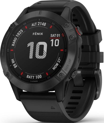 Garmin GPS-Multisport-Smartwatch Schwarz FENIX 6 PRO sw
