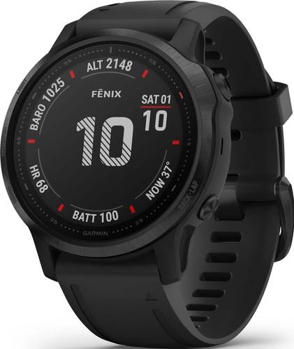 Garmin GPS-Multisport-Smartwatch Schwarz FENIX 6S PRO sw