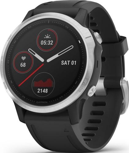 Garmin GPS-Multisport-Smartwatch Schwarz/Silber FENIX 6S sw/silber