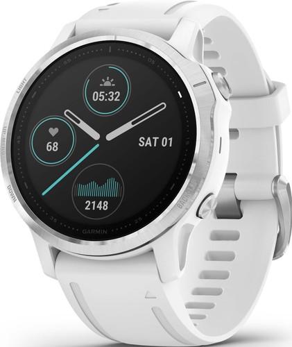 Garmin GPS-Multisport-Smartwatch Weiss/Silber FENIX 6S weiß/silber