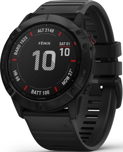 Garmin GPS-Multisport-Smartwatch Schwarz FENIX 6X PRO sw