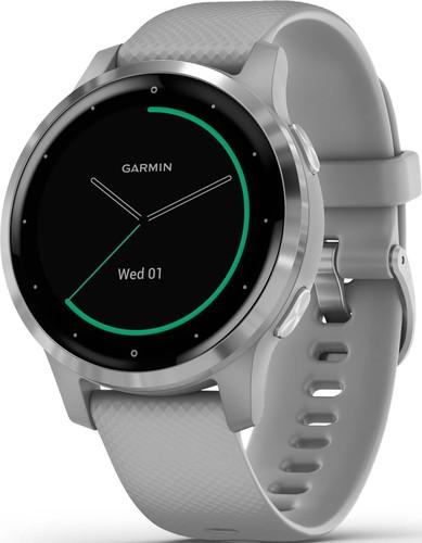 Garmin Smartwatch Grau/Silber VIVOACTIVE 4S gr/si