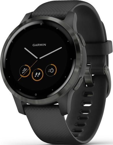 Garmin Smartwatch Schwarz/Schiefergrau VIVOACTIVE 4Ssw/s-gr