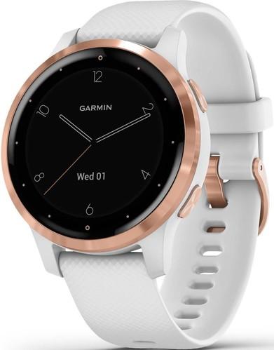 Garmin Smartwatch Weiss/Rosegold VIVOACTIVE 4Sws/rogo