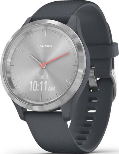 Garmin Smartwatch Granitblau/Silber VIVOMOVE 3Sgra-bl/si