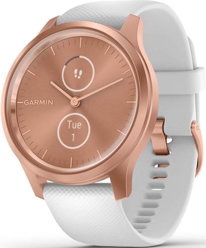 Garmin Smartwatch Rosegold/Weiss VIVOMOVE STYrosgo/ws