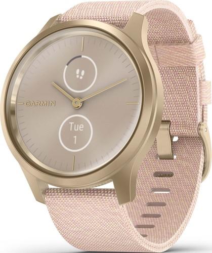 Garmin Smartwatch Weissgold/Rosa VIVOMOVE STYwsgo/ros
