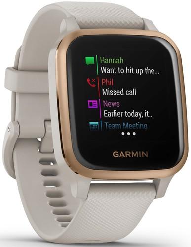 Garmin Smartwatch 3,3cm Touchscreen VENU SQ MU bg/ros-go