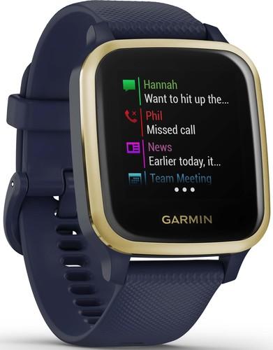 Garmin Smartwatch 3,3cm Touchscreen VENU SQ MU dkl-bl/go