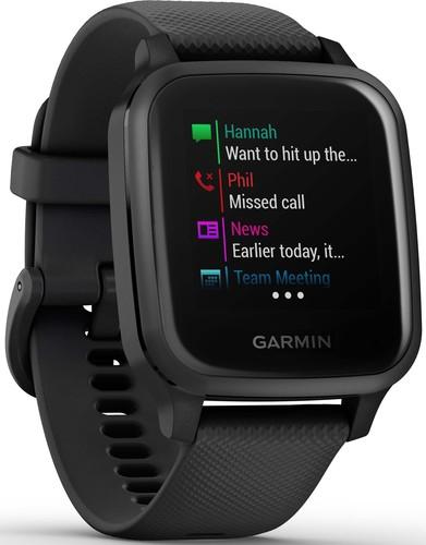 Garmin Smartwatch 3,3cm Touchscreen VENU SQ MU sw/schief