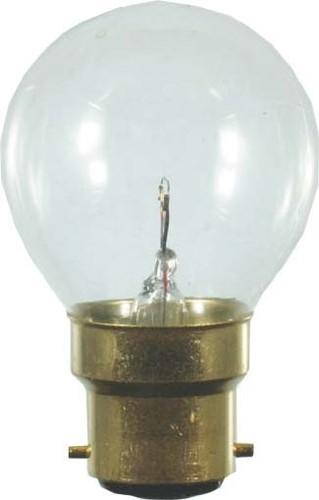 Scharnberger+Hasenbein Tropfenlampe 45x75mm B22d 12V 25W klar 43064