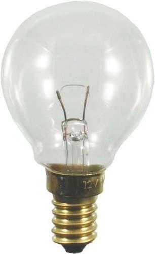 Scharnberger+Hasenbein Tropfenlampe 45x75mm E14 12V 15W klar 43150