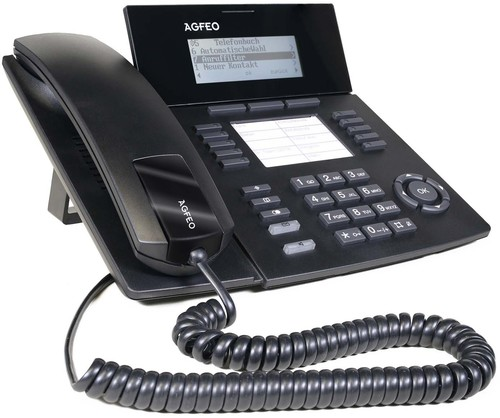 Agfeo IP-Systemtelefon schwarz ST 53 IP SENSfon sw